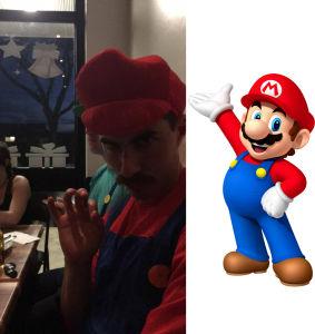 Nick Armstrong as Mario