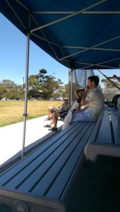 R9 Newly Appointed Firsts Captain JPD Watches On