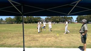 R9 Destroyers Lachie and Hugh Walk off at Drinks