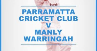 Manly 5th Grade rep and Collaroy Plateau Cricket Club junior Glynn Archer on a Manly GF promo poster