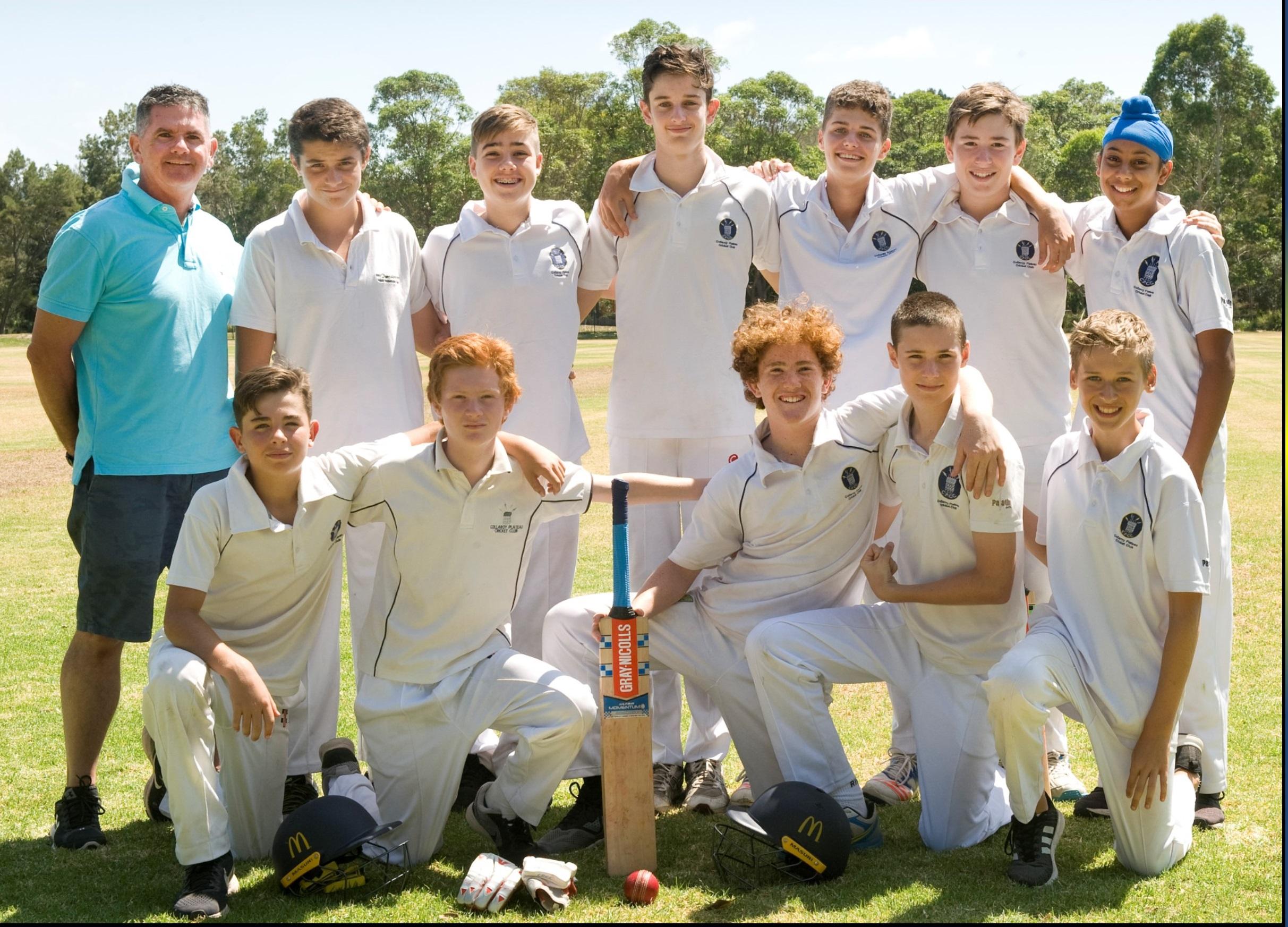 Under 14s Team Photo 16/17