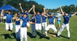 Under 13s Cyclone Girls Winners Manly Warringah Junior Cricket Association