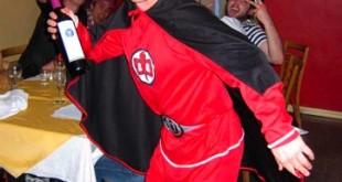 Adam Peacock as William Catt's 'GAH'