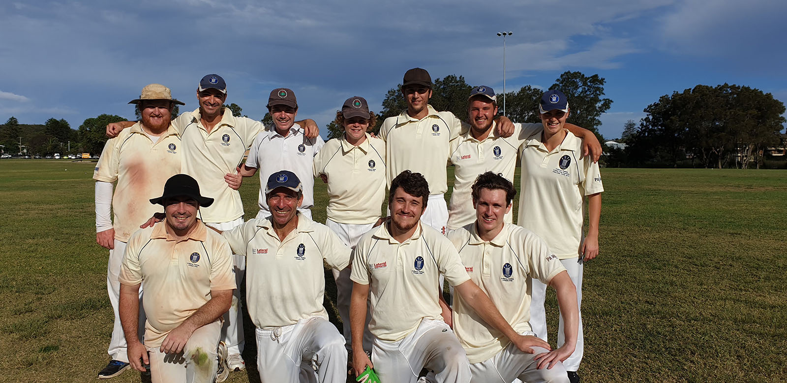 Seniors Cricket on the Northern Beaches. Collaroy Plateau Cricket Club 3rd Grade senior team in the Manly Warringah Cricket Association.